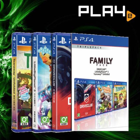 PS4 Family Pack