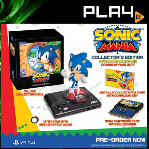 PS4 Sonic Mania Collector's Edition
