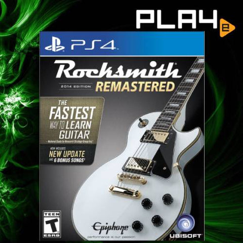 PS4 Rocksmith 2014 Remastered Edition (R1)