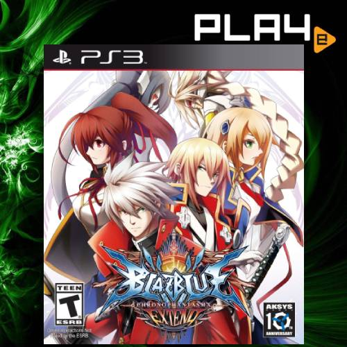 PS3 Blazblue Chrono Phantasma Extend
