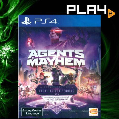 PS4 Agents Of Mayhem (Region 3)