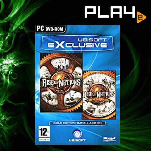 PC Rise of Nations Gold Edition