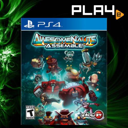 PS4 Awesomenauts Assemble