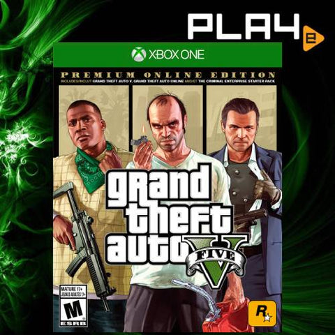 XBox One Grand Theft Auto V [Premium Edition]
