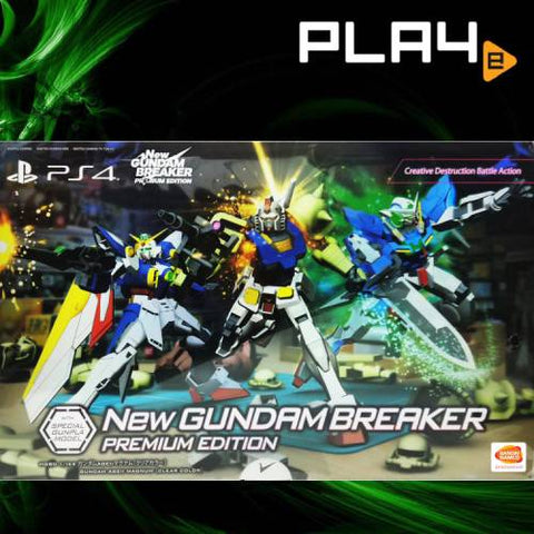 PS4 New Gundam Breaker Premium