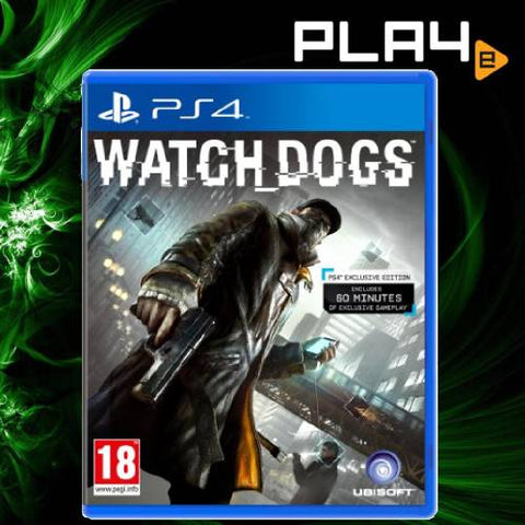 PS4 Watch Dogs [Complete Edition]