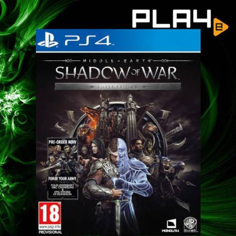 PS4 Middle Earth: Shadow Of War - Silver Edition