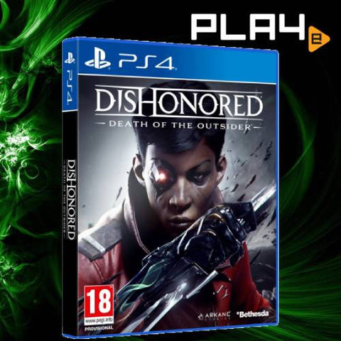 PS4 Dishonored Death of The Outsider (R2)