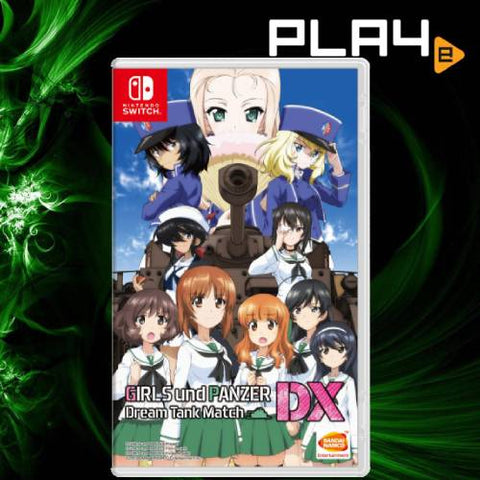 Nintendo Switch Girls Und Panzer Dream Tank Match Dx