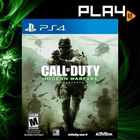 PS4 Call of Duty Modern Warfare Remastered (US)