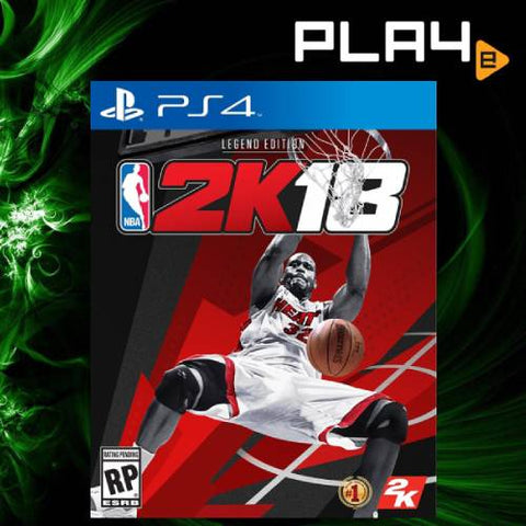 PS4 NBA 2K18 [Legend Edition]