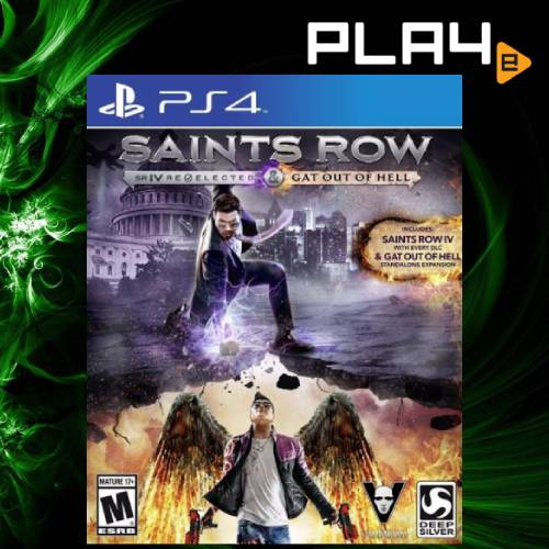 PS4 Saints Row IV Re-Elected & Gat Out Of Hell (R1)