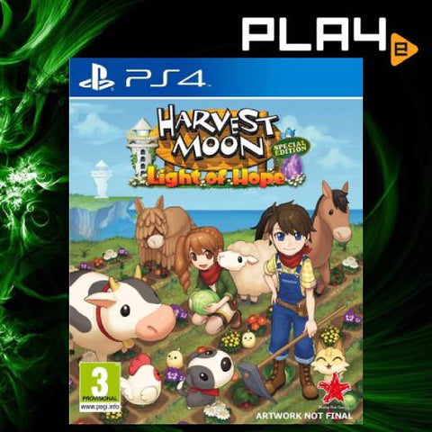 PS4 Harvest Moon Light of Hope Collector's Edition