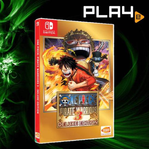 Nintendo Switch One Piece Pirate Warriors 3 Deluxe Edition (Asia)