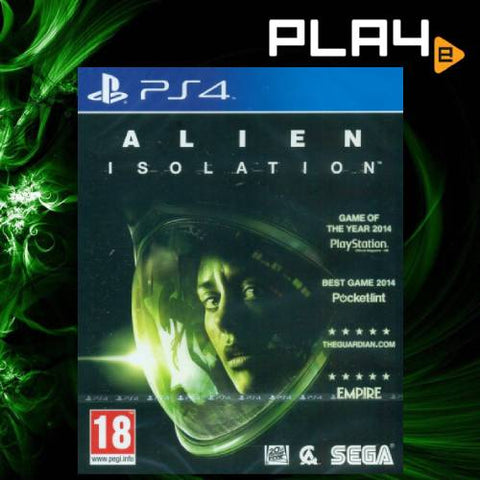 PS4 Alien Isolation (M18)