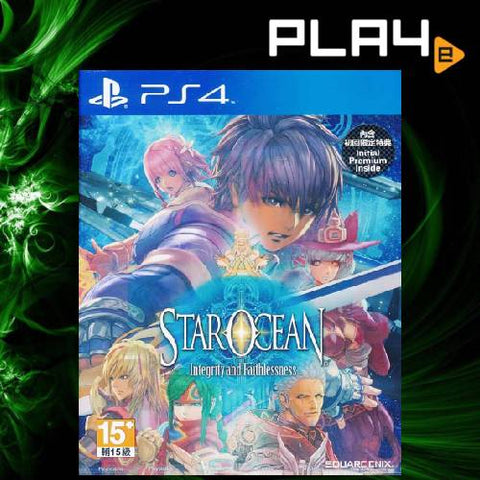 PS4 Star Ocean Integrity And Faithfullness (R3)