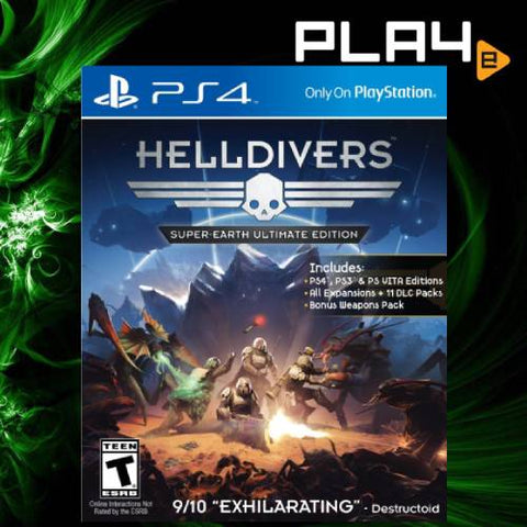 PS4 Helldivers Super Earth (R1)