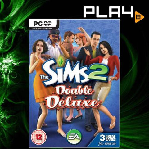 PC The Sims 2 Double Deluxe