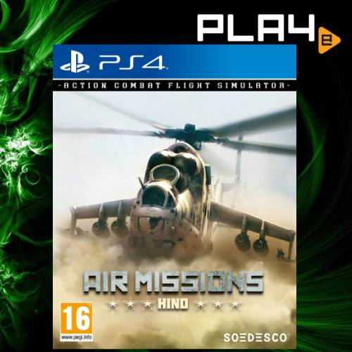 PS4 Air Missions Hind