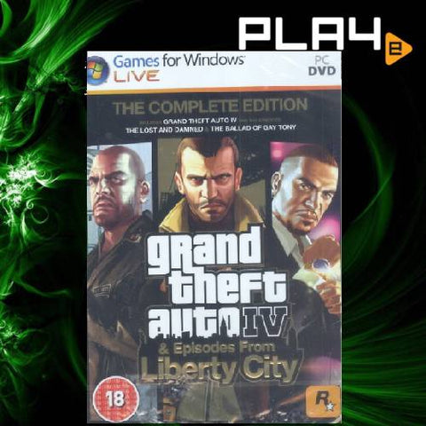 PC Grand Theft Auto IV Complete Edition