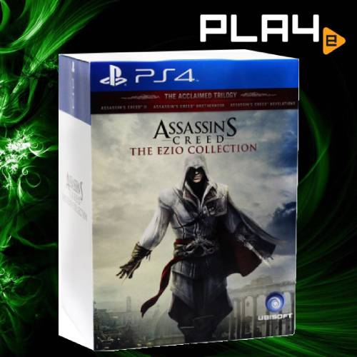 Ps4 Assassin S Creed The Ezio Collection Collector Edition Playe