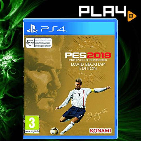 PS4 PES 2019 David Beckham Edition (R2)