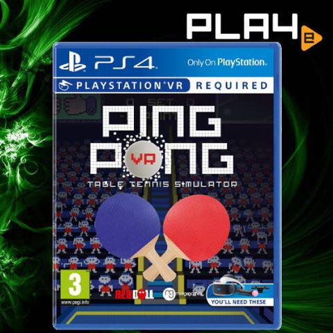 PS4 VR Ping Pong Table Tennis Simulator
