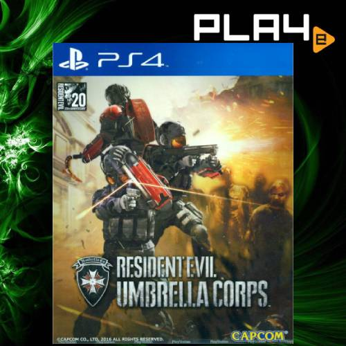 PS4 Resident Evil Umbrella Corps (Region 3)
