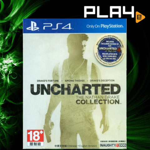 PS4 Uncharted The Nathan Drake Collection (Region 3) Playstation_Hits
