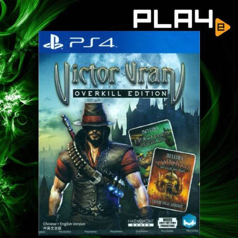PS4 Victor Vran Overkill Edition