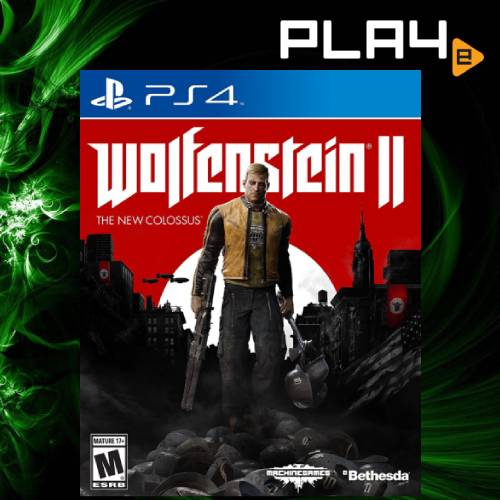 PS4 Wolfenstein 2 The New Colossus (R1)