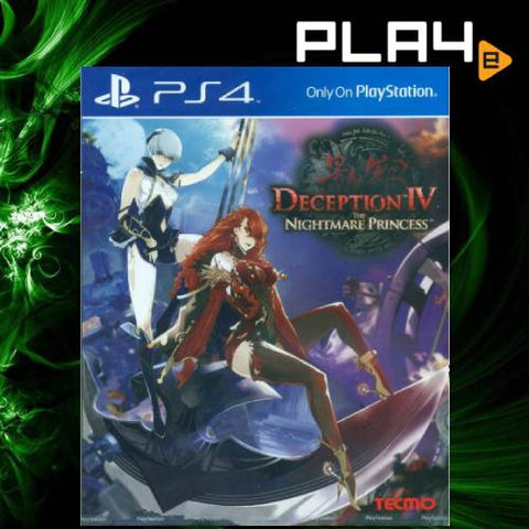 PS4 Deception IV The Nightmare Princess (R3)