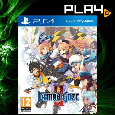 PS4 Demon Gaze 2 (R2)