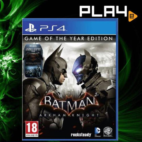 PS4 Batman Arkham Knight GOTY