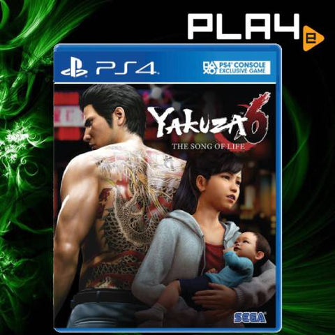 PS4 Yakuza 6 The Song of Life (R3)