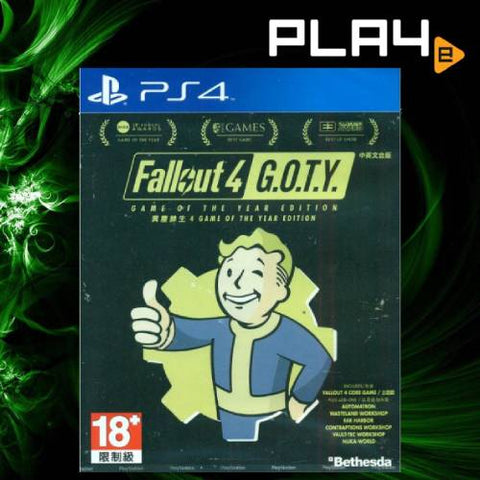 PS4 Fallout 4 GOTY (R3)