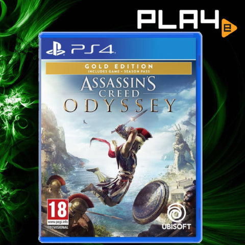 PS4 Assassin's Creed Odyssey [Gold Edition]