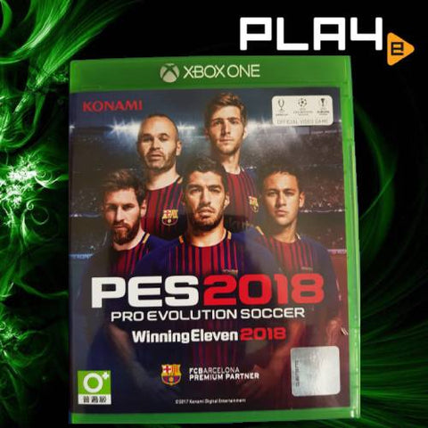 XBox One Pro Evolution Soccer 2018