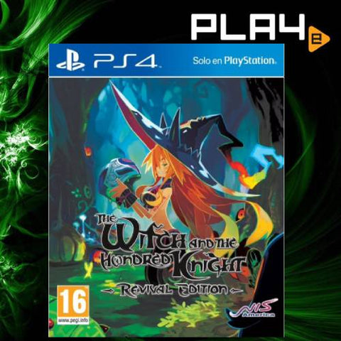 PS4 The Witch and The Hundred Knight: Revival Edition (EU)