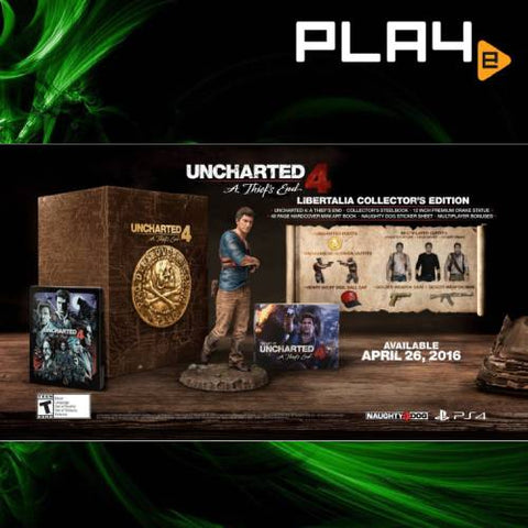 PS4 Uncharted 4 Libertalia Collector Edition
