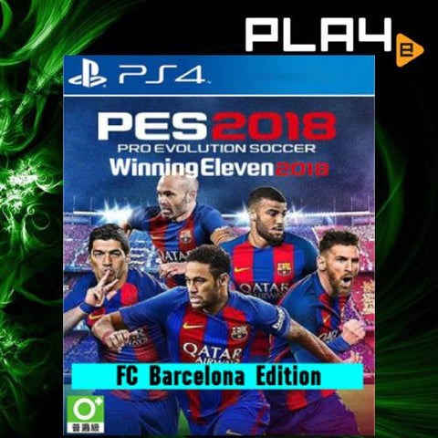 PS4 Pro Evolution Soccer 2018 Barcelona Edition (Region 3)
