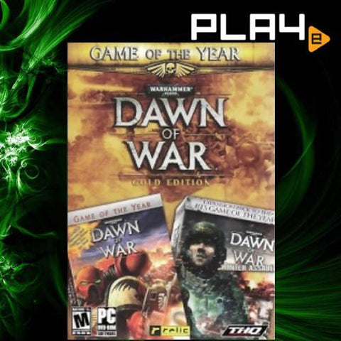 PC Dawn of War Gold Edition Game of The Year