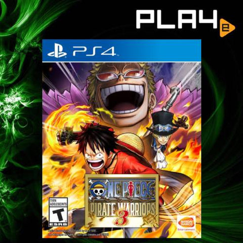 PS4 One Piece Pirate Warriors 3 (R1)