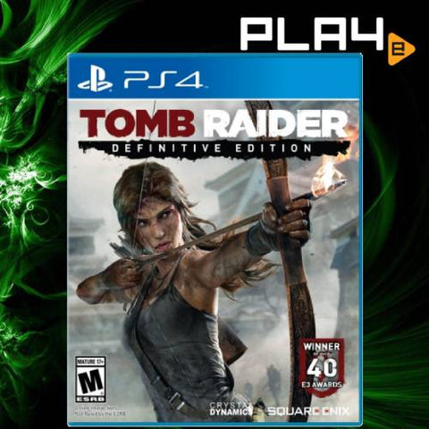 PS4 Tomb Raider (Definitive Edition) (R1/R2)