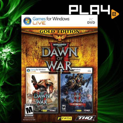 PC Dawn of War 2 Gold Edition