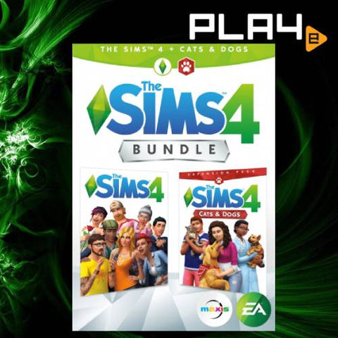 PS4 The Sims 4 + Cats & Dogs