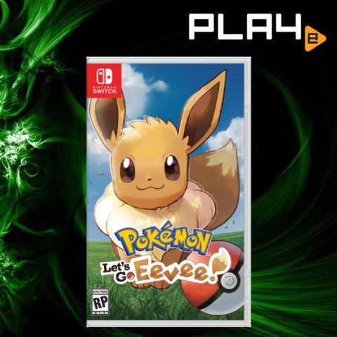 Nintendo Switch Pokemon: Let's Go Eevee