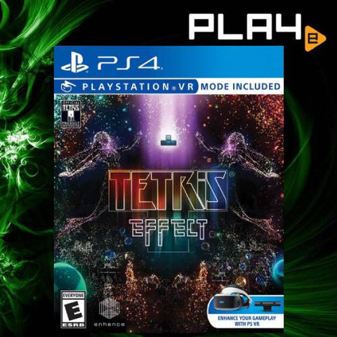 PS4 VR Tetris Effect