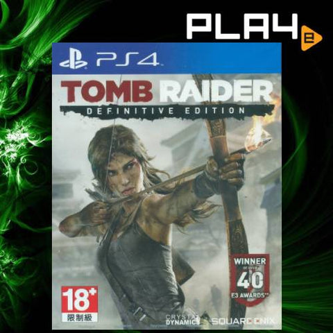 PS4 Tomb Raider: Definitive Edition (Eng/Chi Subtitle)