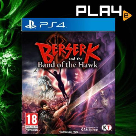 PS4 Berserk And The Band Of The Hawk